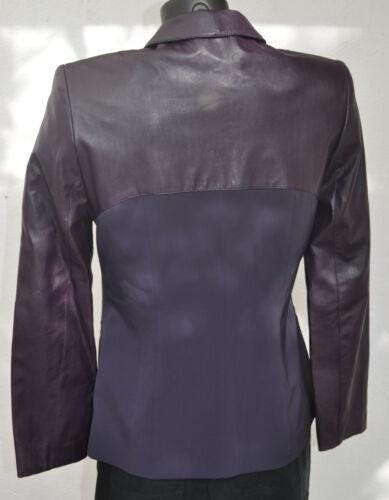Veste Femme Dieu Fr Bon État Violette Crea Très matière Taille Bi 38 Et La av0raq