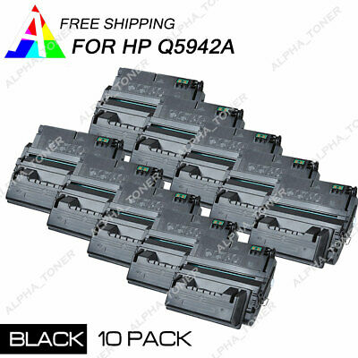 4PK Q5942A 42A Black Toner Cartridge For HP LaserJet 4200 4250 4300 4300dtn 4350