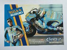 Loris Capirossi Un-Signed Rizla Suzuki Poster Rare.