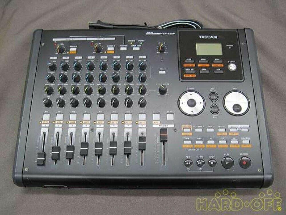 TASCAM Digital MTR Recorder DP-02CF Gebrauchter guter Zustand von Japan Shpping