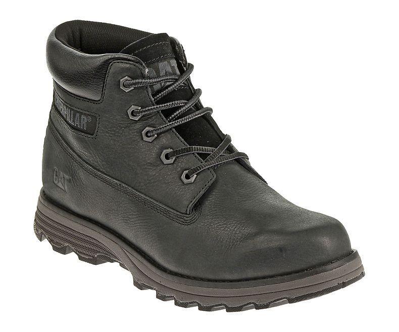 e9d8e349 Caterpillar hombre FUNDADOR ENCAJE Ankle botas negro CAT cuero ntkstt1618- Botas