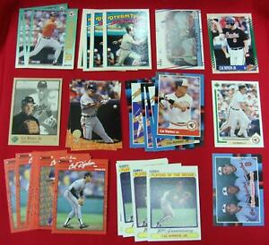 CAL-RIPKEN-JR-BLOW-OUT-LOT-32-CARDS-LATE-80-039-s-EARLY-90-039-s-STORED-SINCE-90-039-s