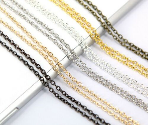 10m 32ft 3x4mm Necklace Bracelet Chains Bulk for DIY Jewelry Making materials