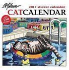 2017 Kliban Catcalendar Sticker Wall Calendar U101