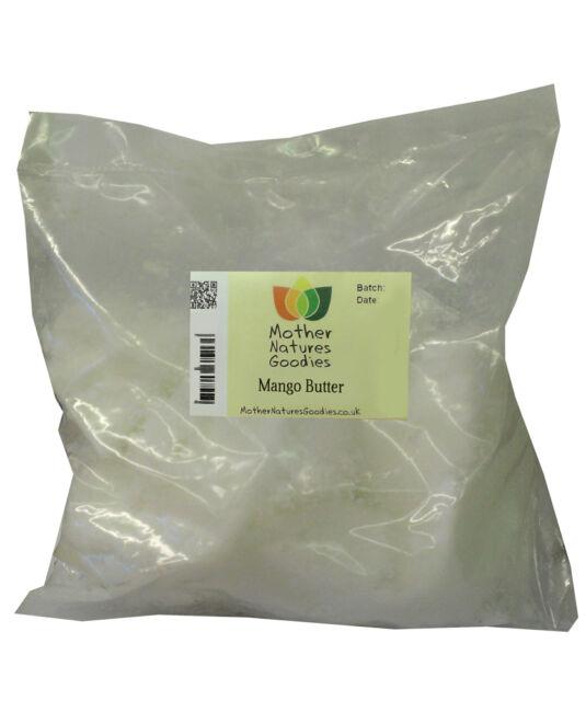 Pure Natural Vegetable Butters 100g - Choose Virgin Coconut, Cocoa, Shea, Mango