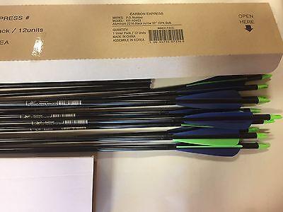 """2504 Carbon Express Aluminum 2219 20/"""" crossbolt 12 pack"""
