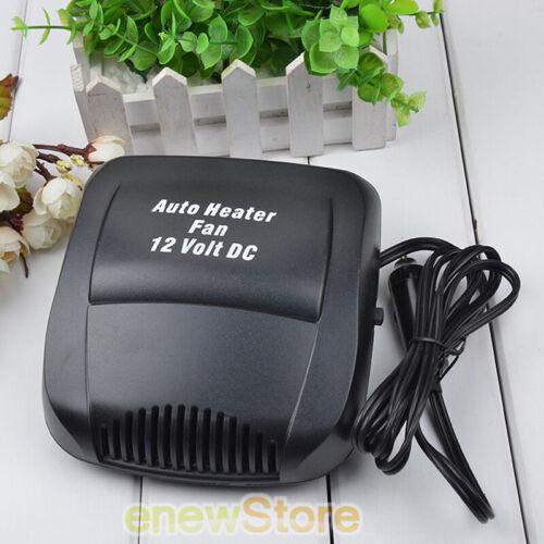Car Auto 150W 12 Volt DC Heater Fan Hot Windscreen Defroster Demister Fan Heater