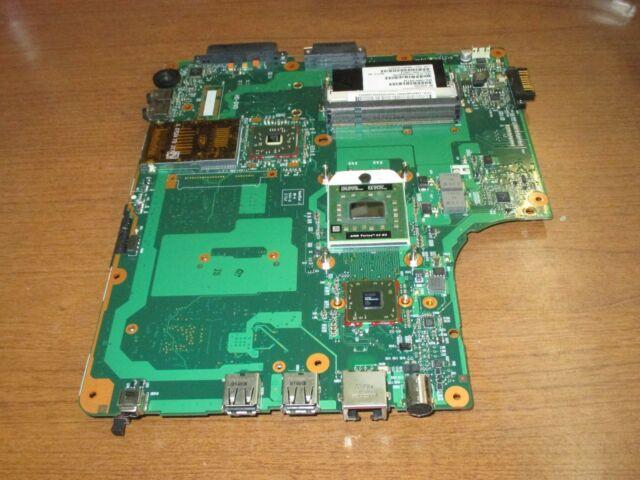 GENUINE!! TOSHIBA A215-S5818 A215 SERIES AMD TL-60 2.0Ghz MOTHERBOARD V000108710