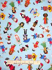 People Children Fabric - Kids Countries World Timeless Treasures C2820 - Yard