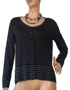 CAPITAL-M-SIZE-L-LONG-SLEEVE-BUTTON-DOWN-JERSEY-KNIT-TOP