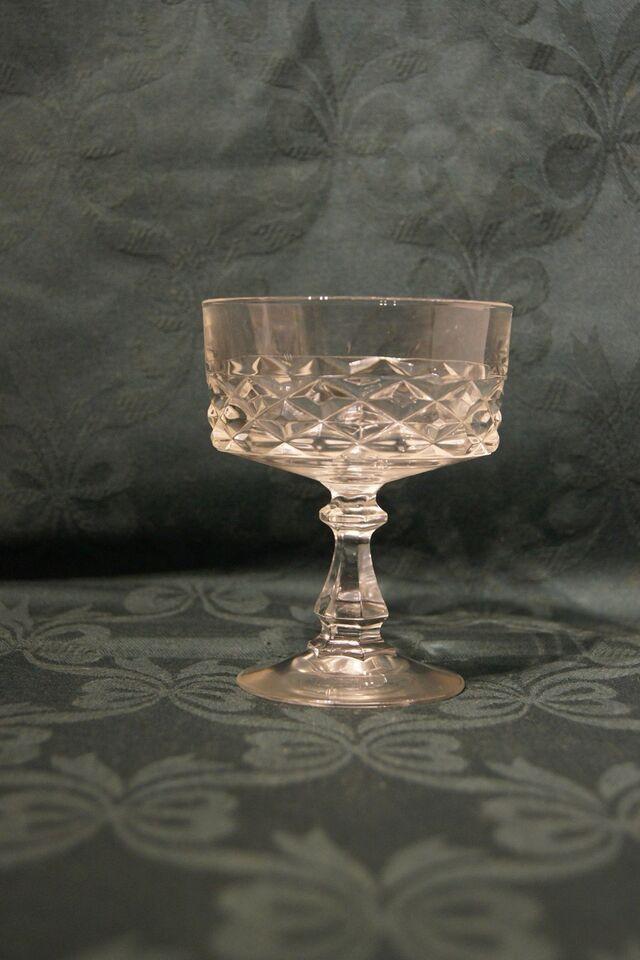 Glas, Krystal glas, Franske Diamord Krystalglas