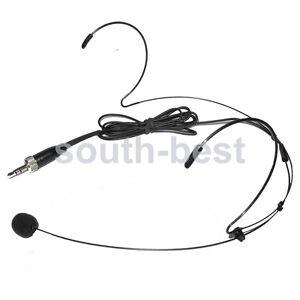 Headset Microfono Omnidirezionale Pro per Shure Sennheiser etc Sistema Wireless