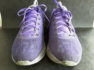 Nike H20 Repel, Lunar Glide 6, Violet Running Baskets Pointure 4.5 très bon état habillées.
