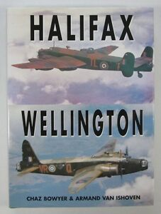 Halifax-at-War-and-Wellington-at-War-by-Chaz-Bowyer-and-Brian-J-Rapier