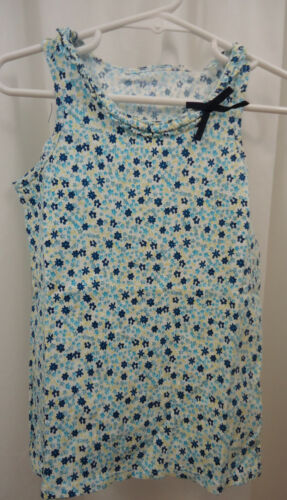 Girl/'s Lands End Floral Tank Shirt  5-6   NWT