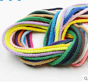 5 mm Eight stocks color Cotton rope Pants cotton rope cord bundle pocket rope
