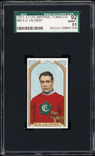 1911 C55 Imperial Tobacco #42 Édouard Newsy Lalonde (HOF, Montreal) SGC 92