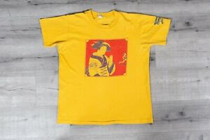 Criticar gorra mantequilla  Vintage 1980 Nike Cascade Run Off Geisha Girl Tee Original XL VTG 80s  T-shirt | eBay