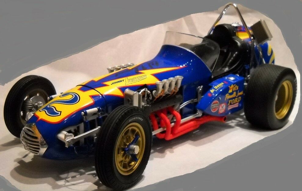 Coche De Carrera Ferrari Grand Prix F 1 12 Vintage 1969 Indy 24 500 64 18 43 Azul