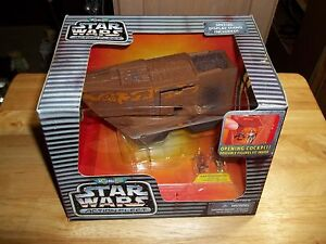 Star Wars action fleet Jawa Sandcrawler Silver Logo NEW