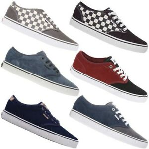 ca36b22202 Vans Atwood Men s Shoes Sneaker Sneakers Leather Textile Leisure New ...