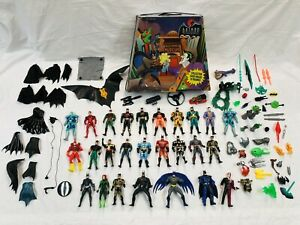 1994-DC-Comics-Batman-amp-Joker-Action-Figure-Carry-Case-Filled-With-All-You-See