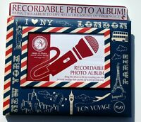 Recordable Talking Vacation Photo Album Holds 10 Photos