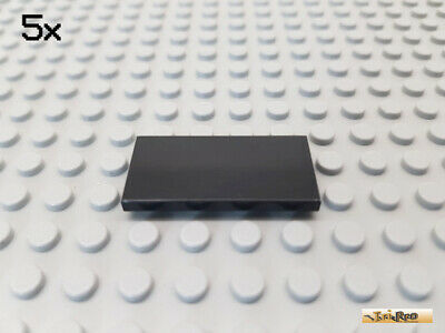 87079-04 LEGO® 20Stk 2x4 - Fliese Black Smooth Parts Schwarz