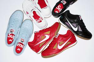 Image Is Loading Supreme X Nike Sb Gato Qs White Gym