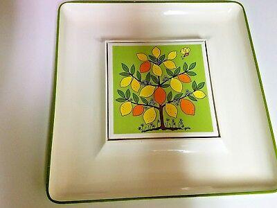 Vintage Serving Tray Lorrie Design Oranges Lemons Vguc Ebay