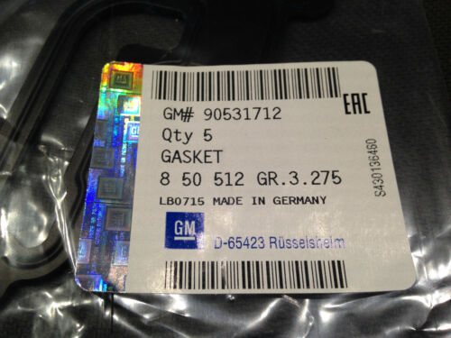 Original Opel 850512 Dichtung entspricht Elring 051.610 051610