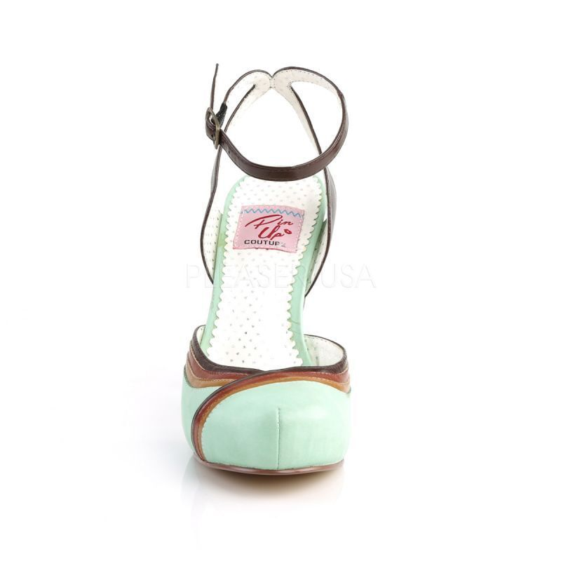 Pin UP COUTURE COUTURE COUTURE PUMPS CUTIEPIE - 01 verde | 2019 Nuovo  | In Linea  | Acquista online  2371d7