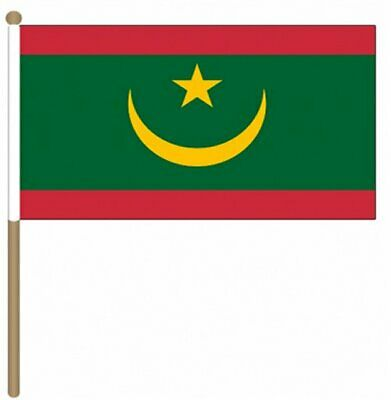12 Stück Mauretanien Neu (22.9cm X 15.2cm) Hand Winkfahne