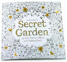 Secret Garden An Inky Treasure Hunt And Coloring Book By Johanna Basford 2013