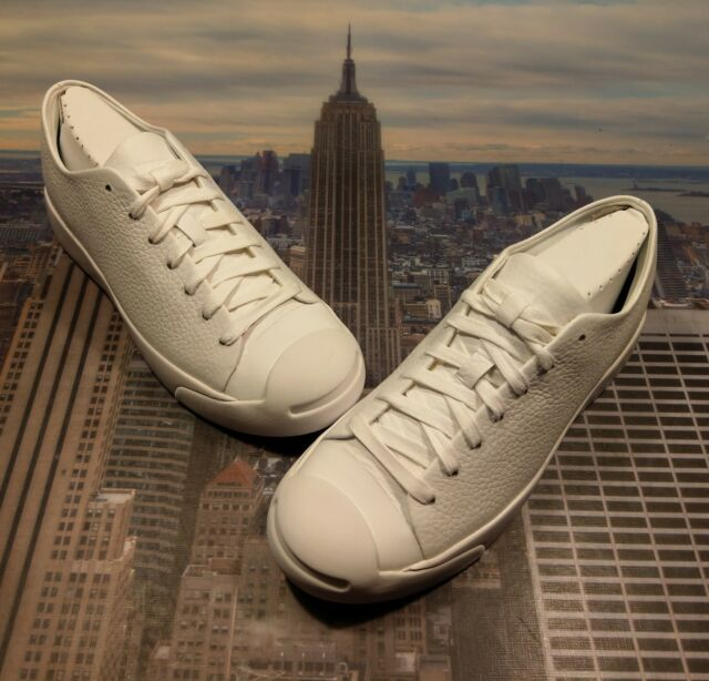 d7bde9187a18 Converse Jack Purcell Modern Ox Low Top White White-White Size 11.5 155021c  New
