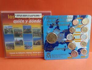 CARTERA-FNMT-2004-EL-REINO-DE-ESPANA-DA-LA-BIENVENIDA-A-10-PAISES-EUROPA-Euros