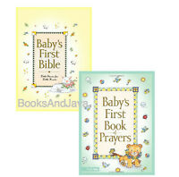 Baby's First Bible & Baby's First Book Of Prayers By Melody Carlson 2 Book