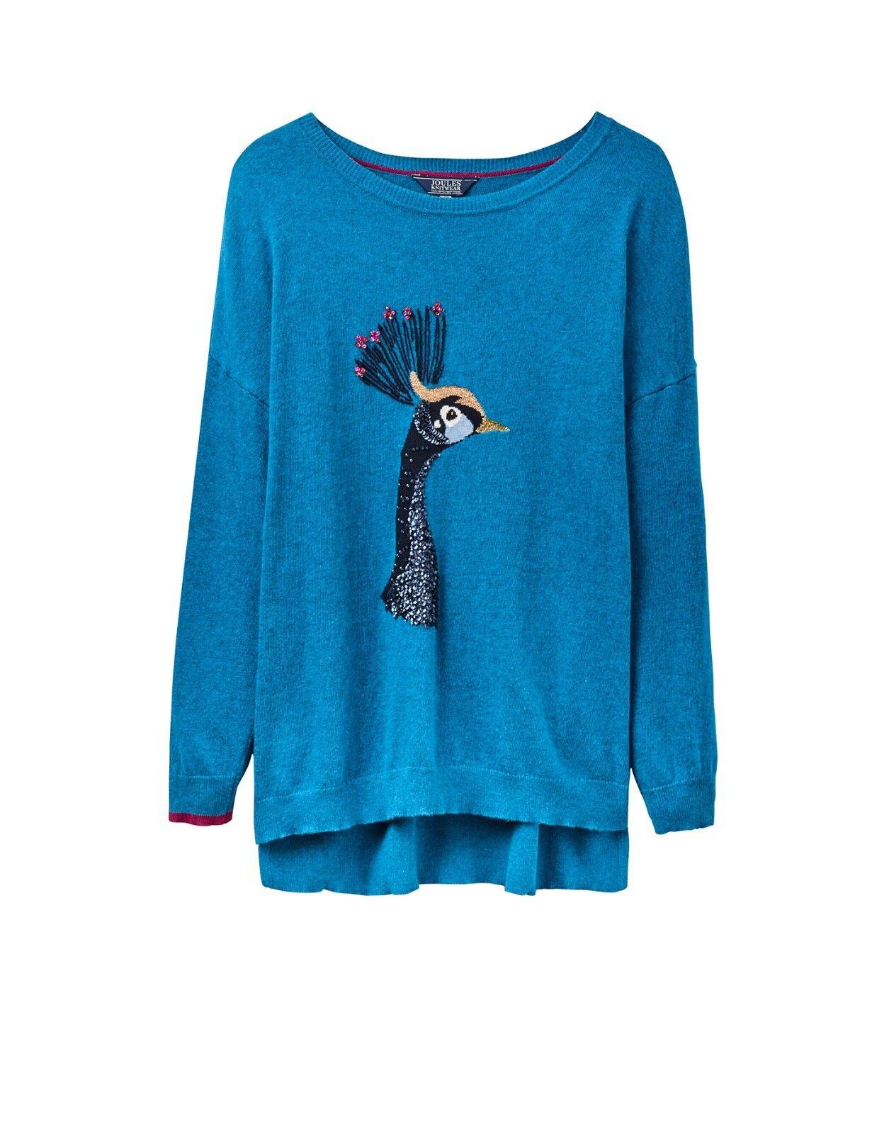 Joules Meryl Intarsia Girls Jumper Sweater Dalmation All Sizes