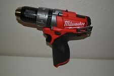 "Brand New Milwaukee Brushless 2403-20 M12 12v FUEL 1/2"" Drill/Driver"