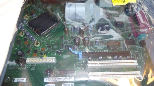 Dell GM819, LGA 775/Socket T, Intel Motherboard