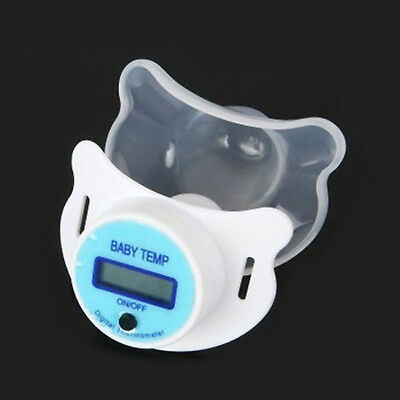 Hot Dummy Pacifier Thermometer Baby Kid Health Nipple Temperature LCD Digital