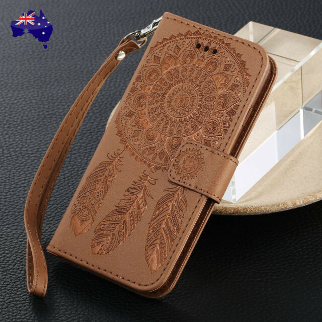 For Apple iPhone 6s 7 8 Plus 5 SE Wallet Case Luxury Magnetic Flip Leather Cover