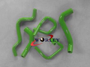 Green-Heavy-Duty-Silicone-Radiator-Hose-Kit-for-Ford-Falcon-BA-BF-XR6-Turbo