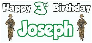 Football Silhouette 15th Birthday Banner x2 Party Decorations Boys Son ANY NAME