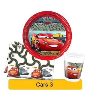 Image Is Loading Disney CARS 3 Birthday PARTY Range Tableware Balloons
