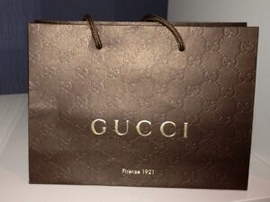 ac775e1cb0 Image is loading 1-Brown-Paper-Gucci-Gift-Shopping-Bag-Amazing-