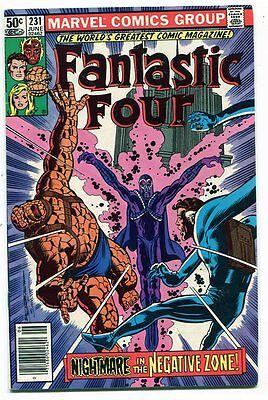 Fantastic Four 231 VF Newsstand Marvel Comics (1961 Series) CBX12A
