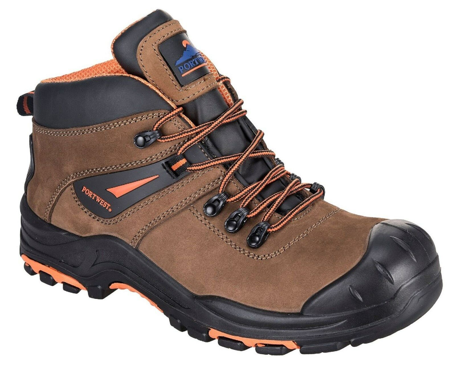 PORTWEST COMPOSITELITE MONTANA HIKER WIDE BOOT EH SIZE 7-14 WIDE HIKER FITTING EE 92656f