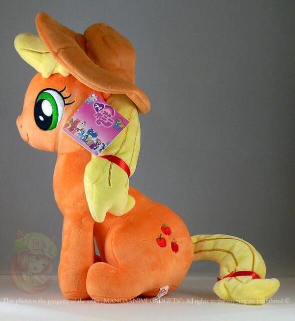 "Sitting AppleJack plush doll 12""/30 cm My Little Pony plush 12""  UK Stock"
