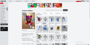 Roblox Account Avatar Cost 4000 Robux 500 Robux On The Account